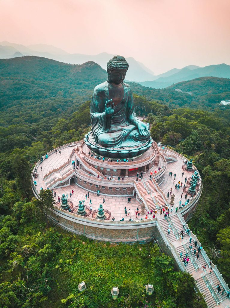 Vue du Big Bouddha