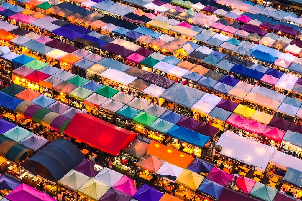 Le plus grand marché d'Asie