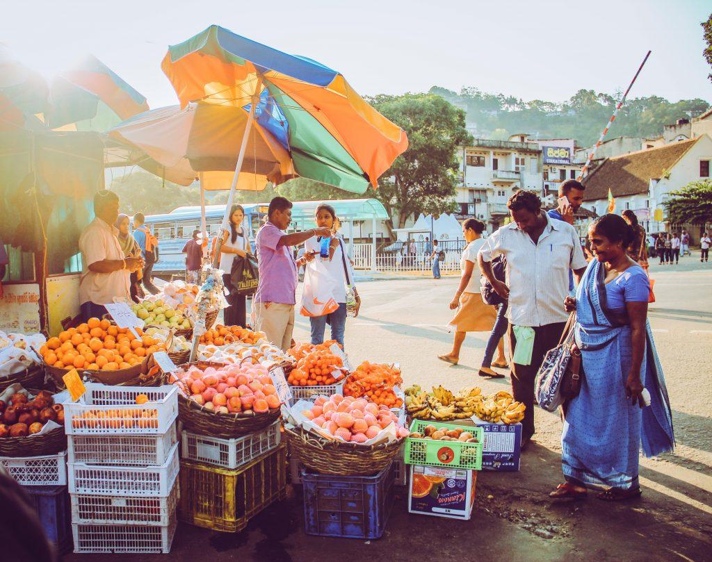 Marché Sri Lankais