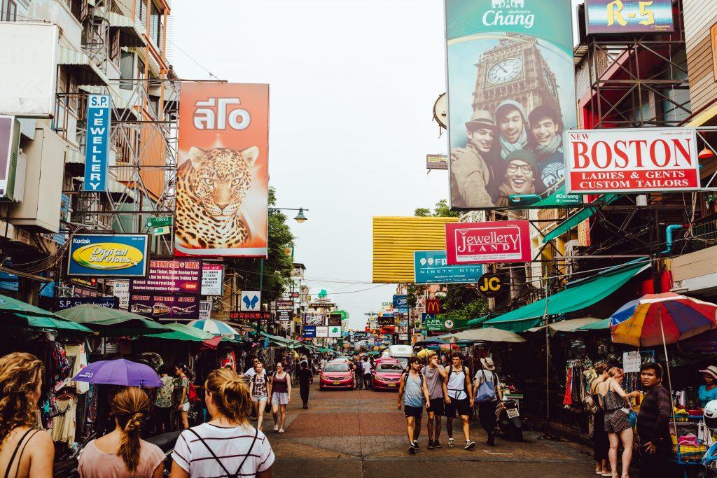Khao San Road de jour