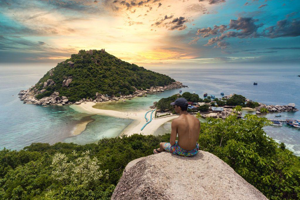 La vue de Koh Phi Phi