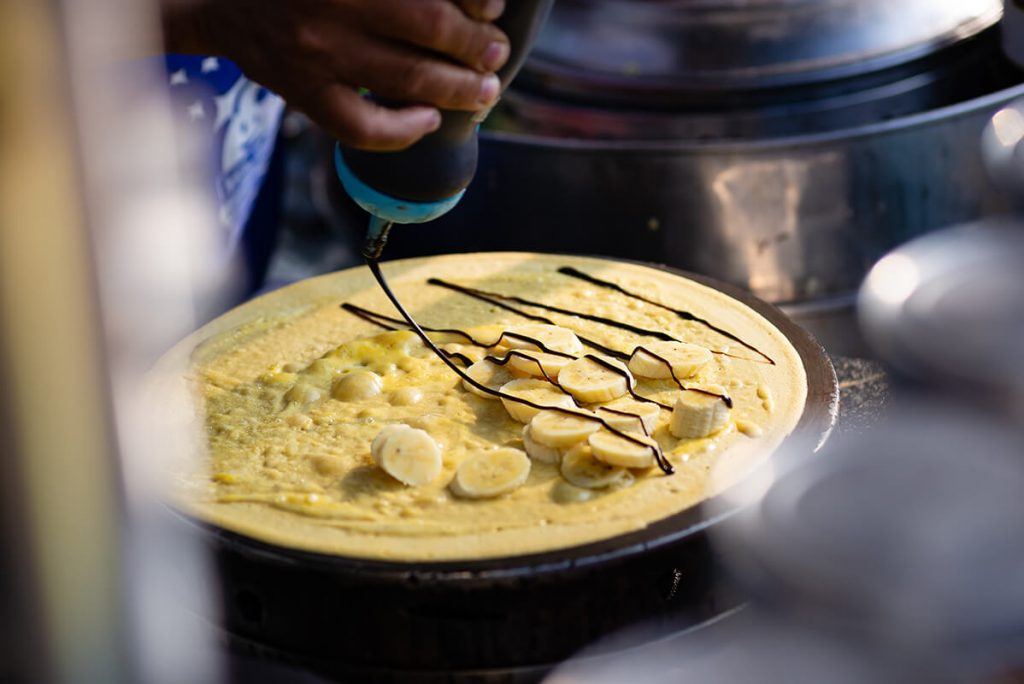 Le pancake thaïlandais