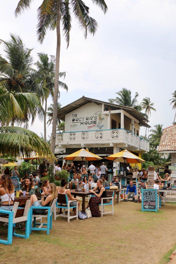 Restaurant Sri Lankais en bord de mer