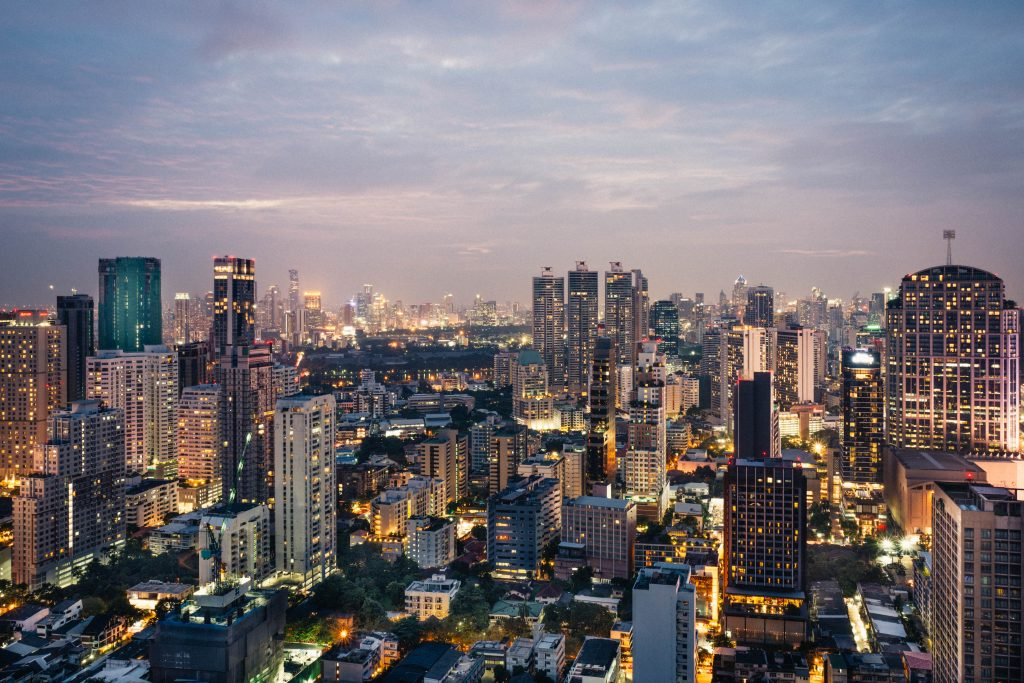 Sky Bar au coeur de Bangkok