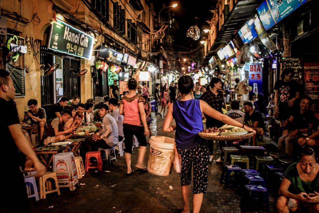 Hanoï - marché de nuit