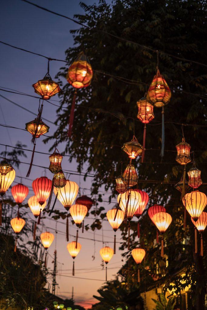 Hoi An - lanternes