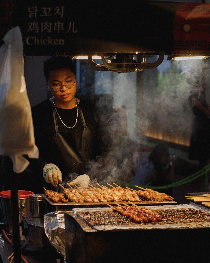 Hanoï - street food