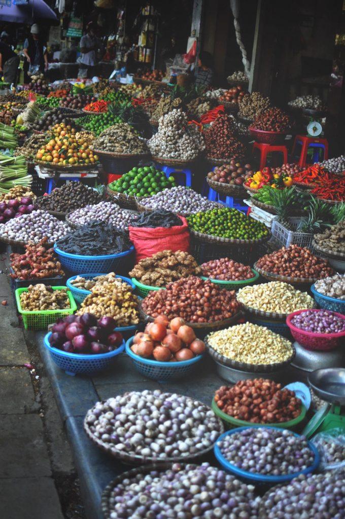 Hanoï - marché en pleine rue